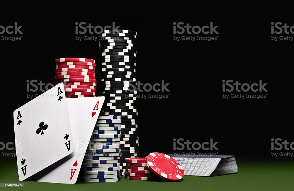 Card Game stock photo