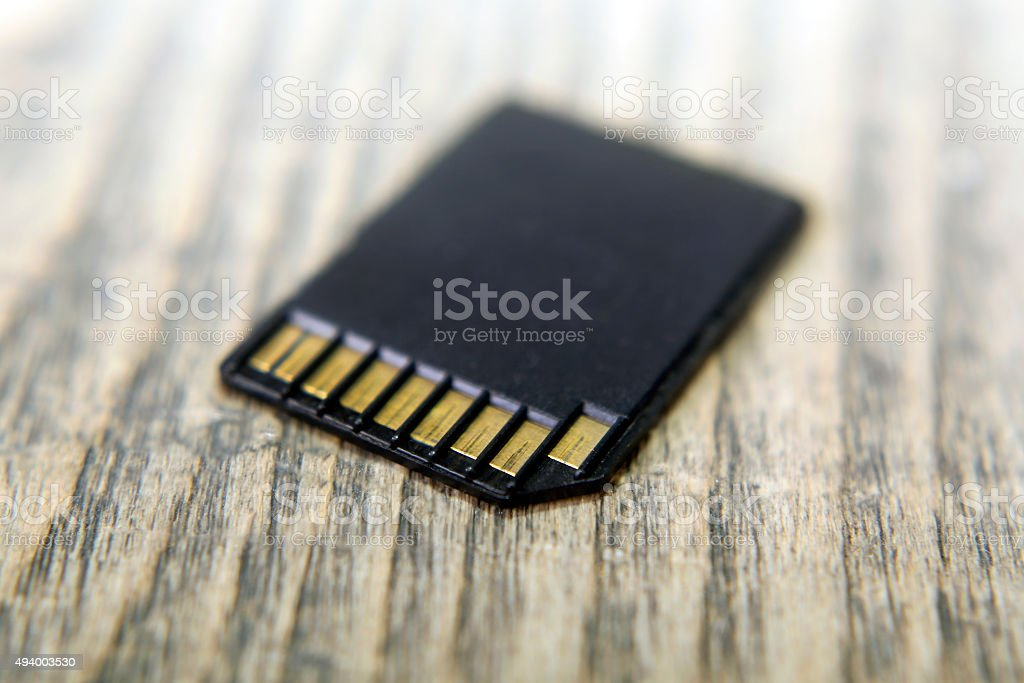 SDHC card stock photo