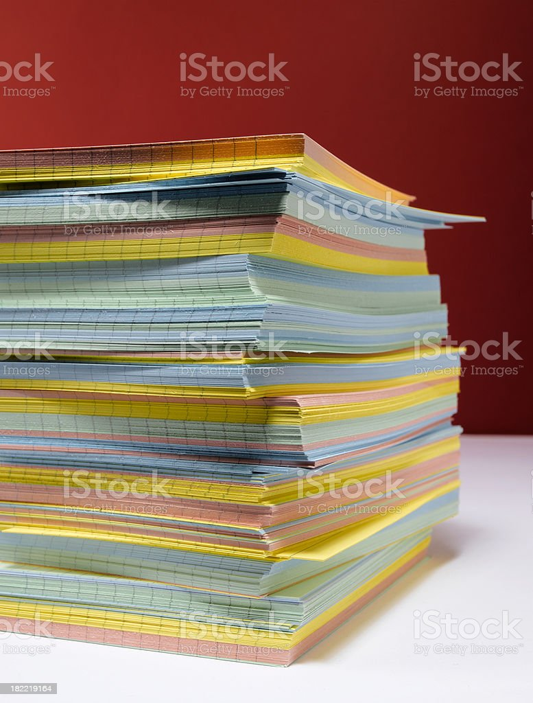 card pile royalty-free stock photo