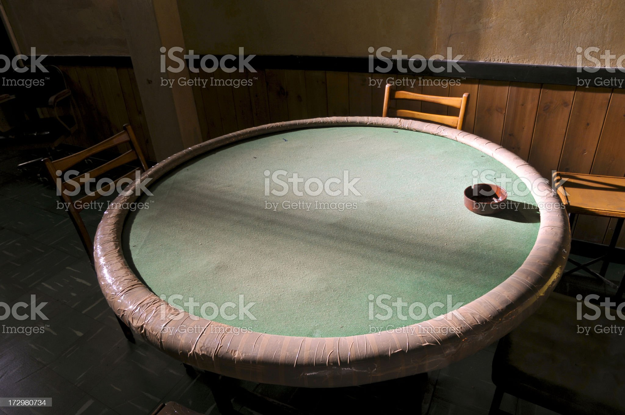 Card Table royalty-free stock photo