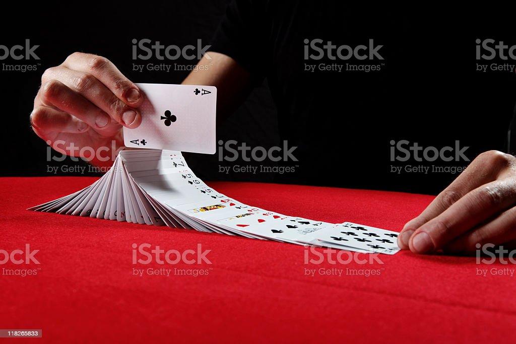 Card Tricks stock photo