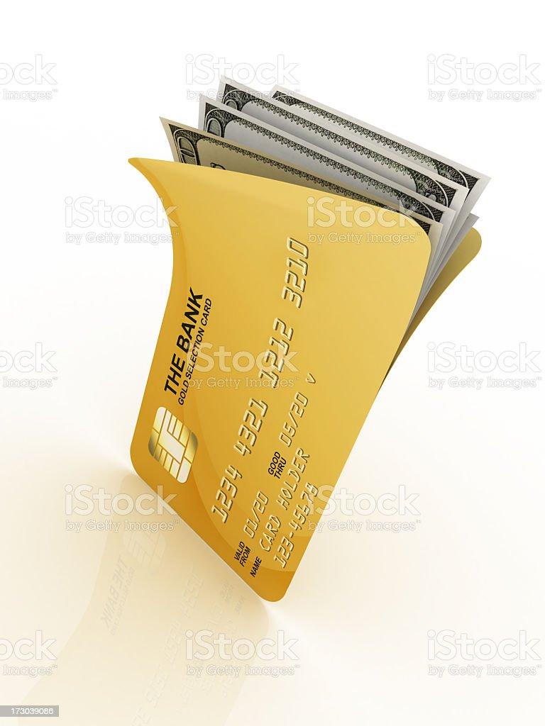 Card Wallet royalty-free stock photo