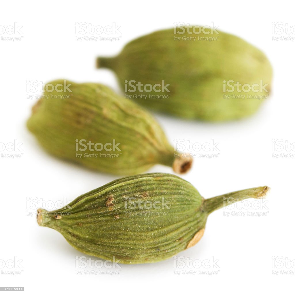 Cardamom pods stock photo