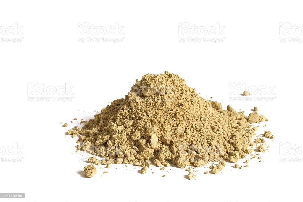 cardamom spice heap stock photo