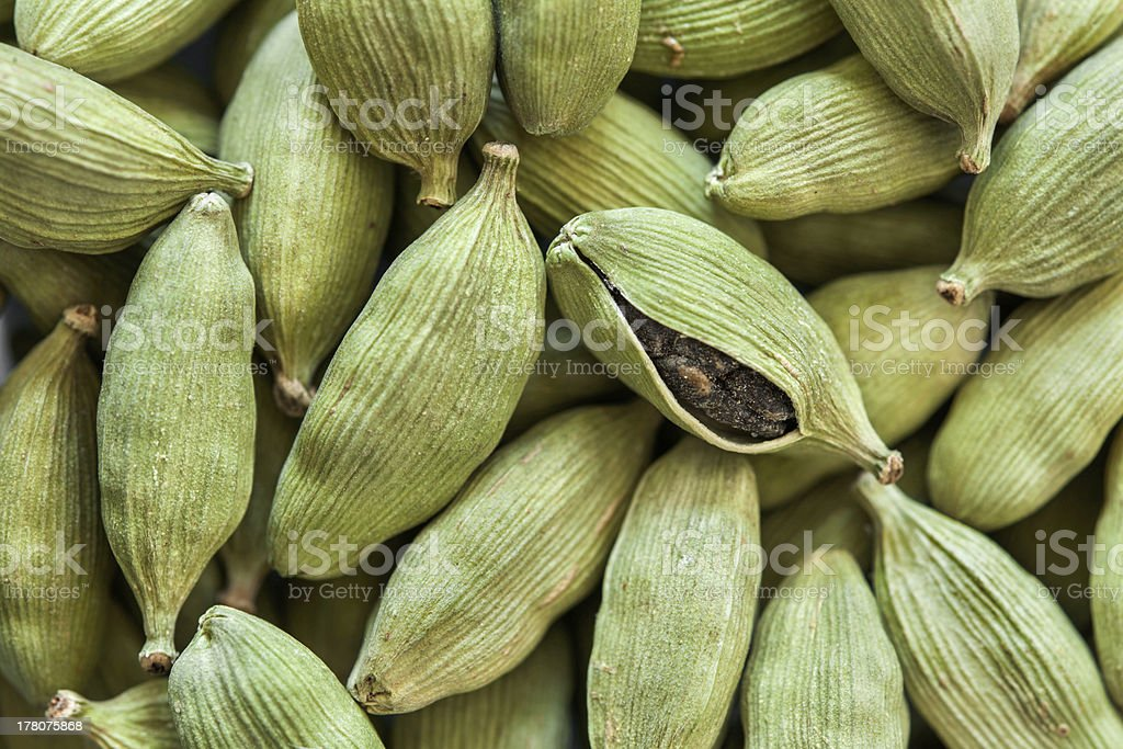 cardamon seeds royalty-free stock photo