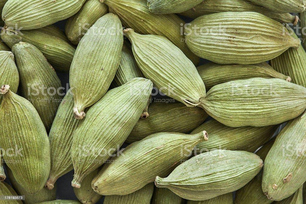 cardamon seeds royalty-free stock photo