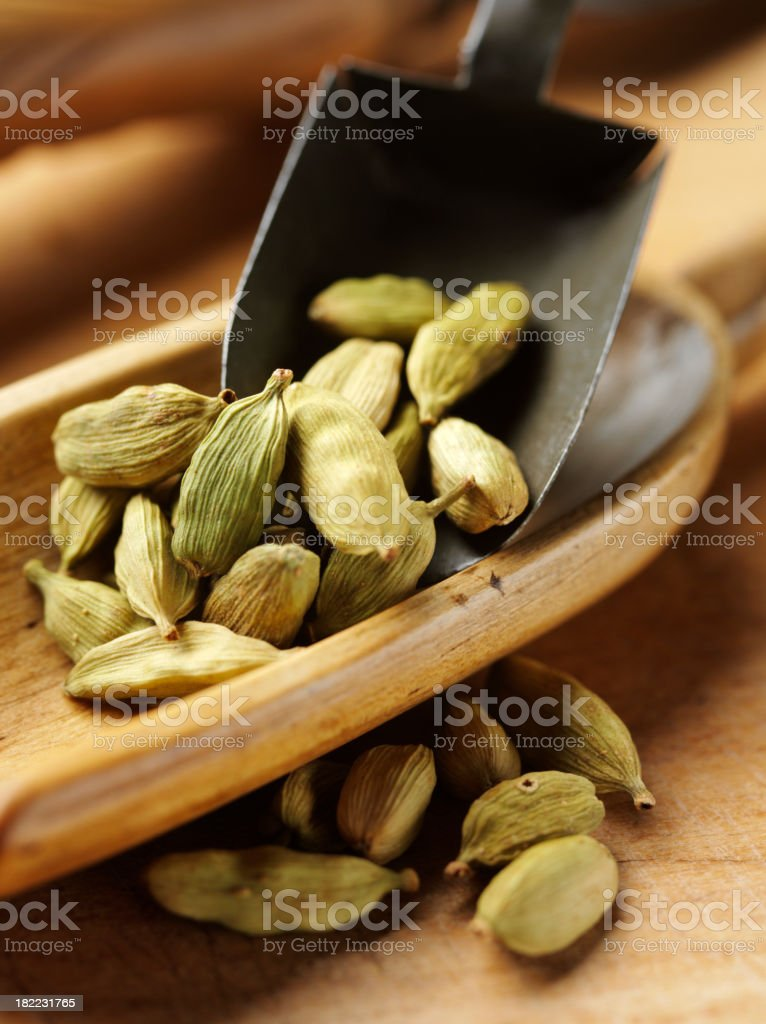 Cardamon Seeds stock photo