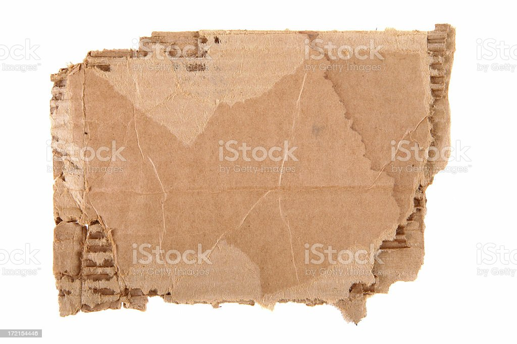 Cardboard Background royalty-free stock photo