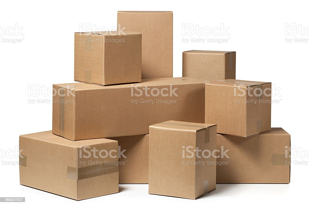 Image result for cardboard box