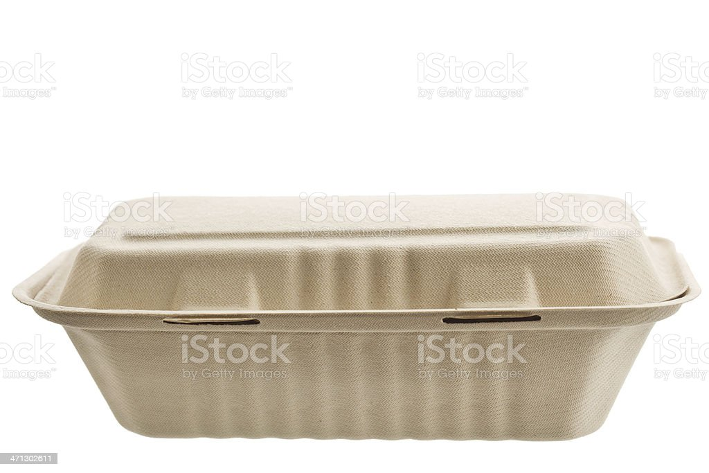 Cardboard Container royalty-free stock photo