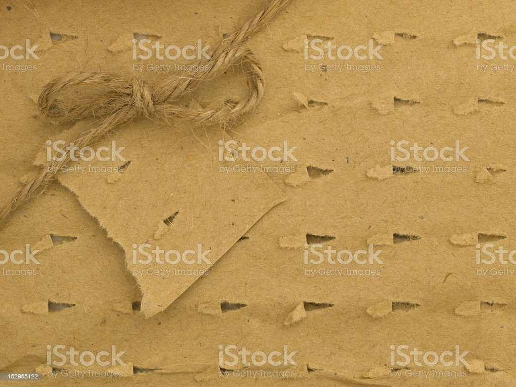 cardboard corrugated paper sheet royalty-free stock photo