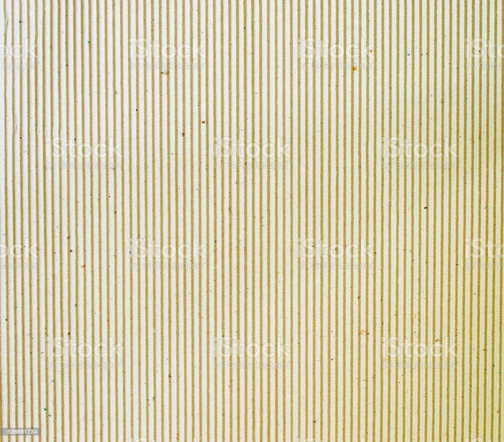 cardboard corrugated pattern background stock photo