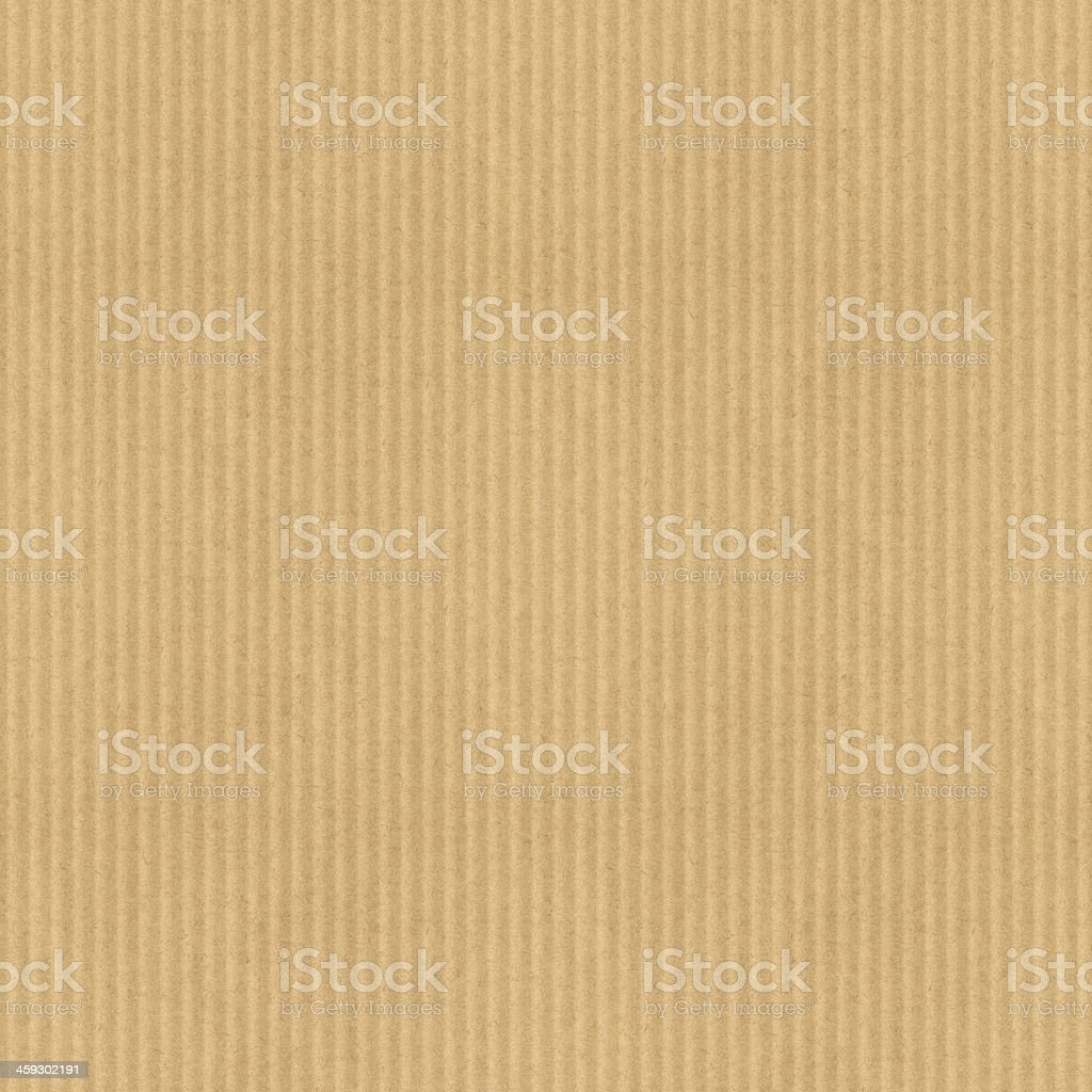 Cardboard corrugated texture. Tileable seamless pattern stock photo