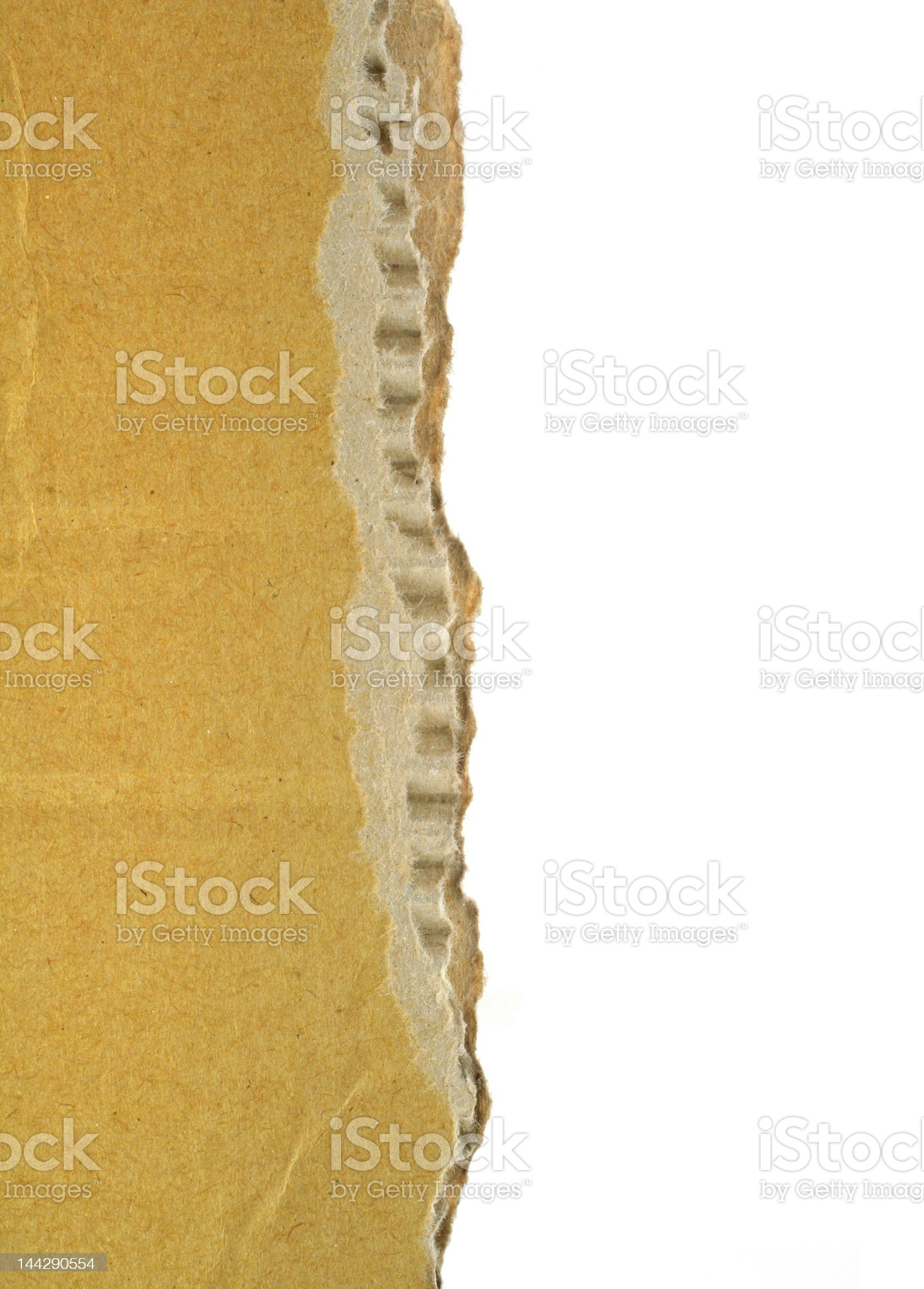 cardboard edge royalty-free stock photo