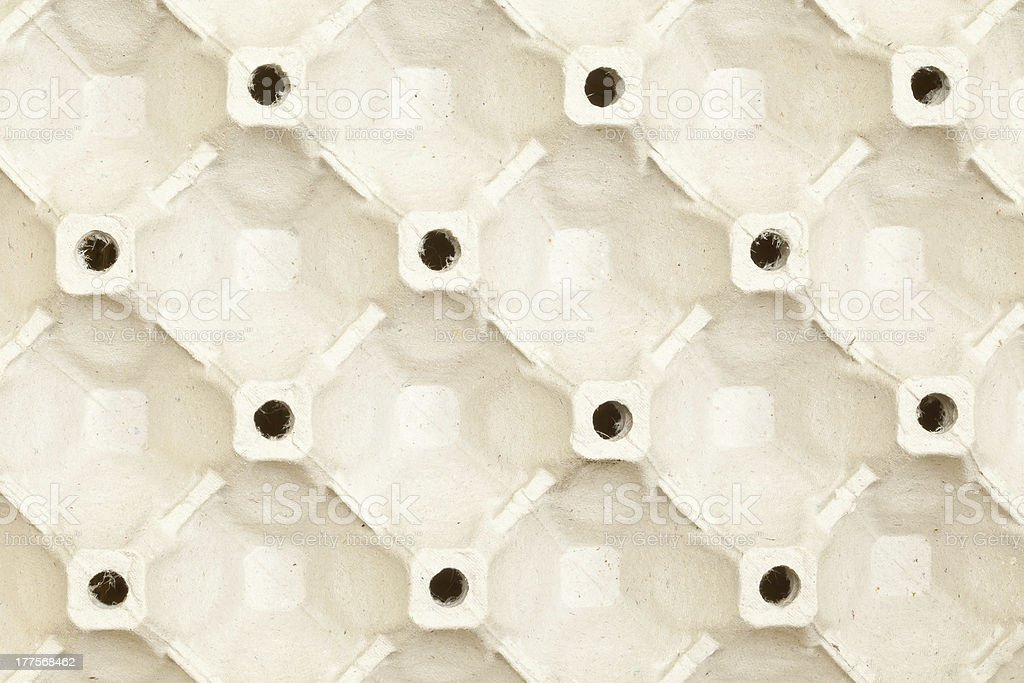 Cardboard Egg Carton royalty-free stock photo