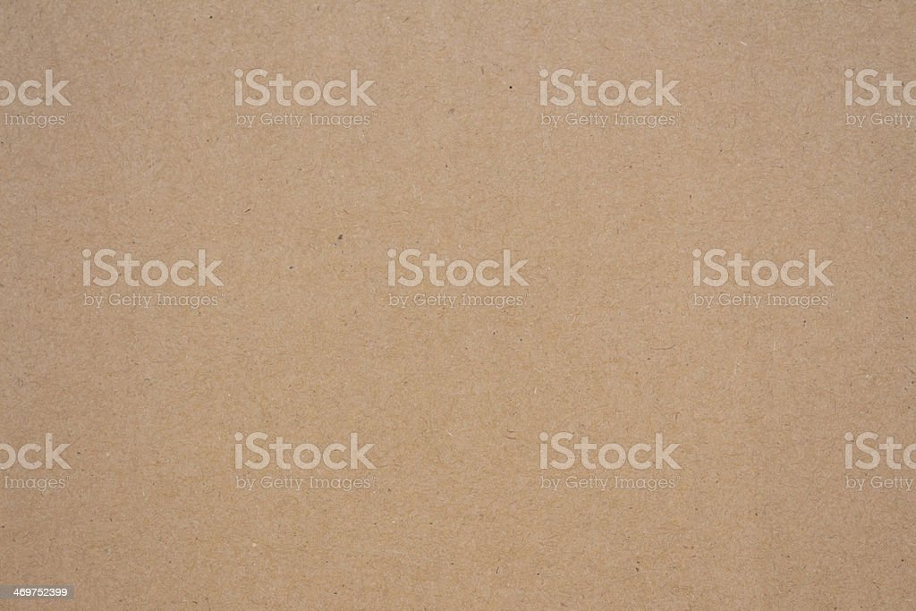 Cardboard paper surface stock photo
