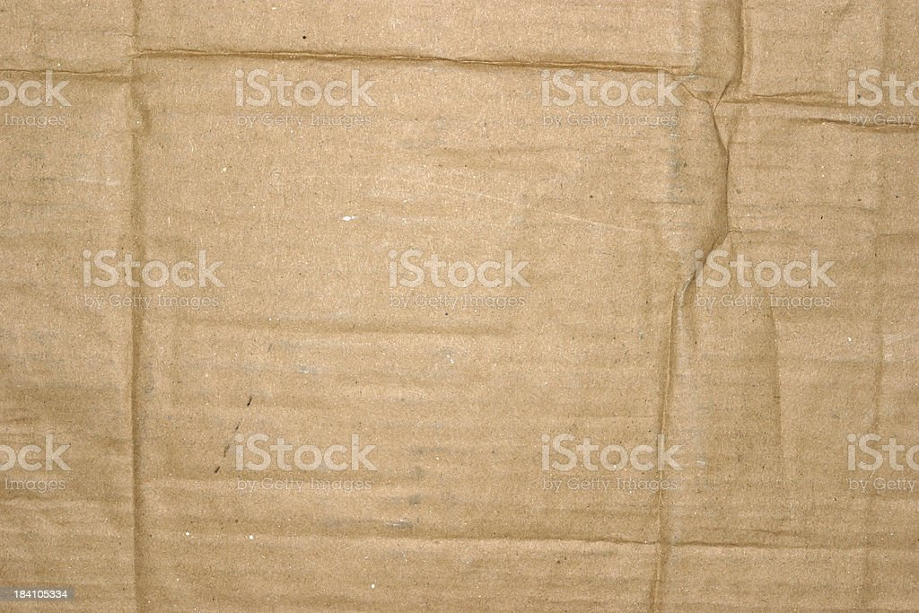 Cardboard Paper Texture royalty-free stock photo