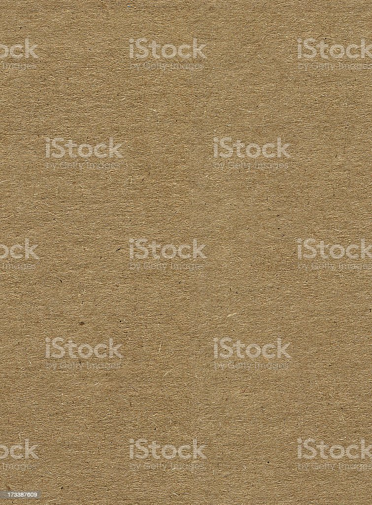 Cardboard sheet - seamlessly tileable texture pattern royalty-free stock photo