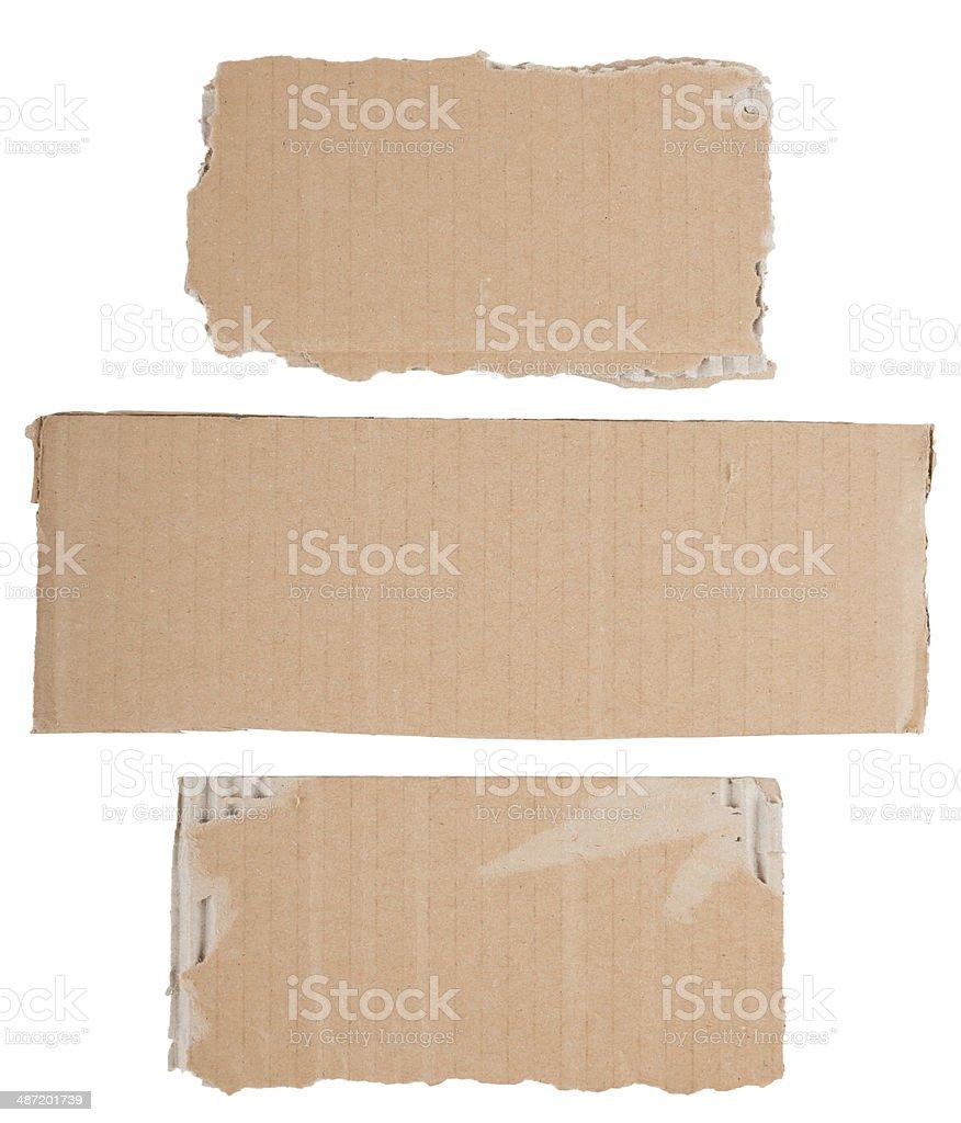 cardboard signs stock photo