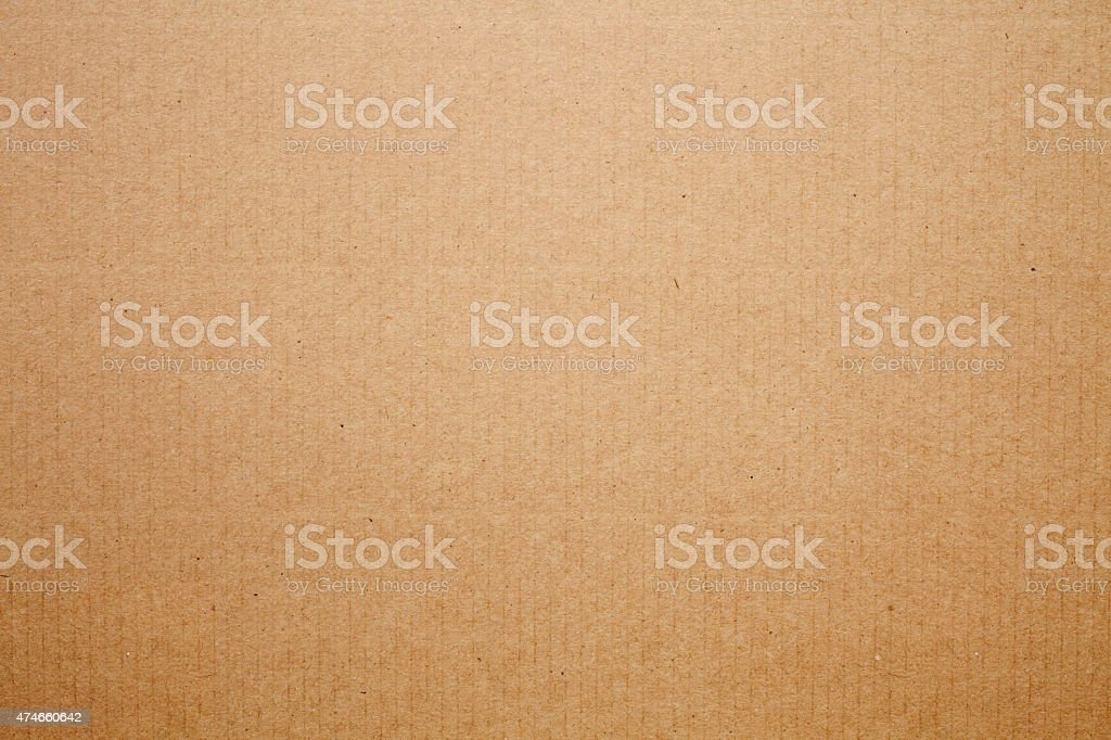 Cardboard texture background stock photo