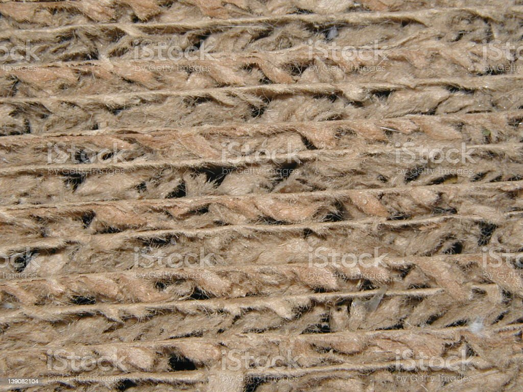 Cardboard Texture royalty-free stock photo