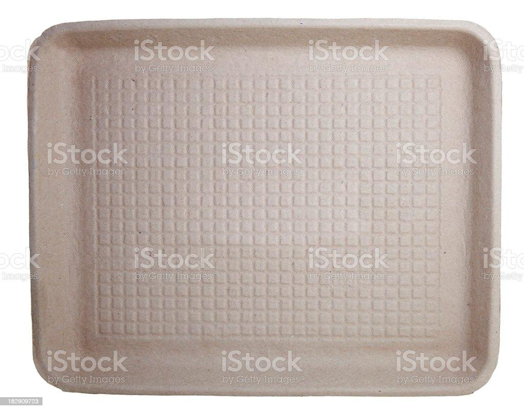 Cardboard Tray royalty-free stock photo