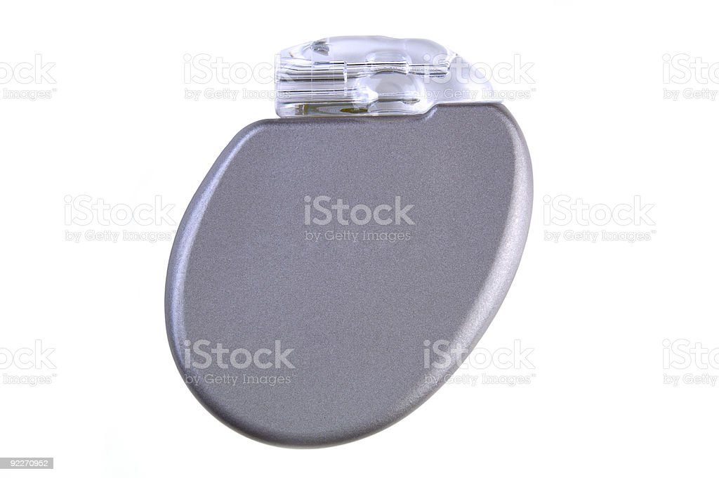 Cardiac Defibrillator stock photo