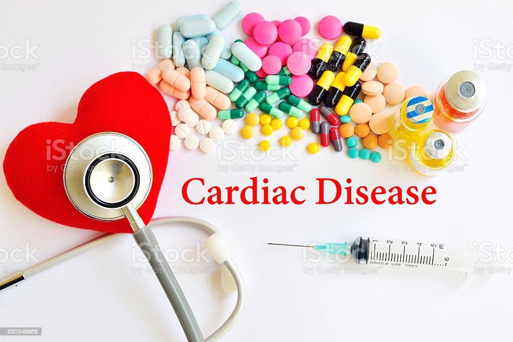 Cardiac disease stock photo