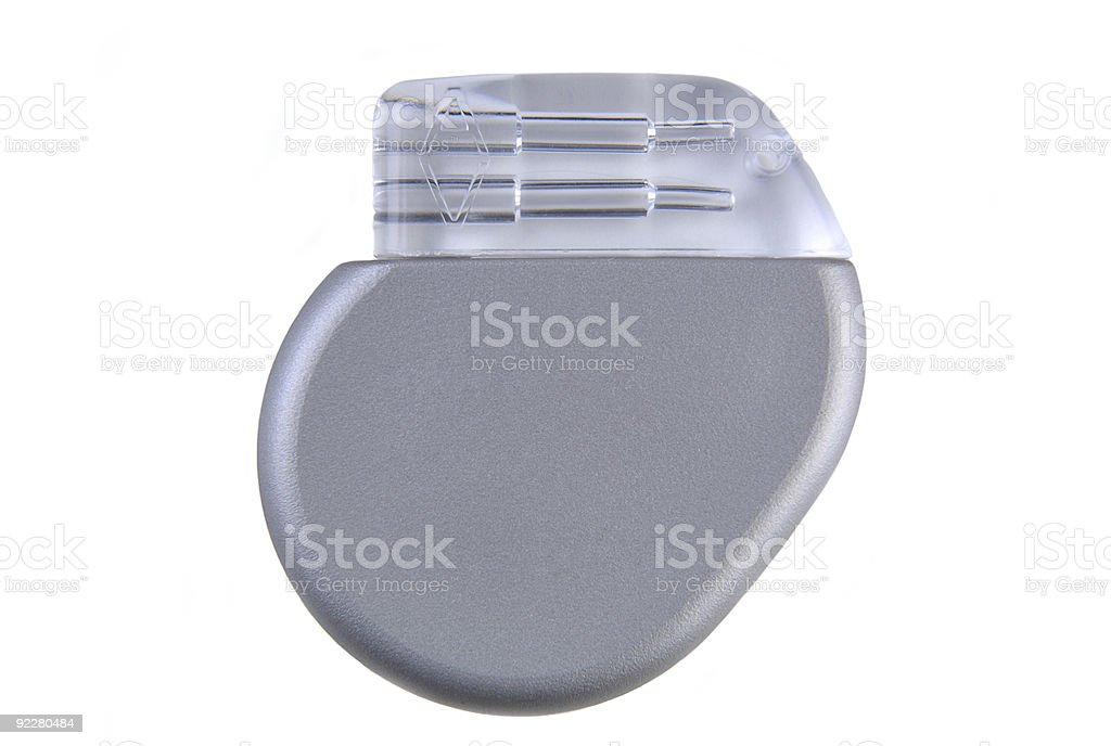 Cardiac Pacemaker stock photo