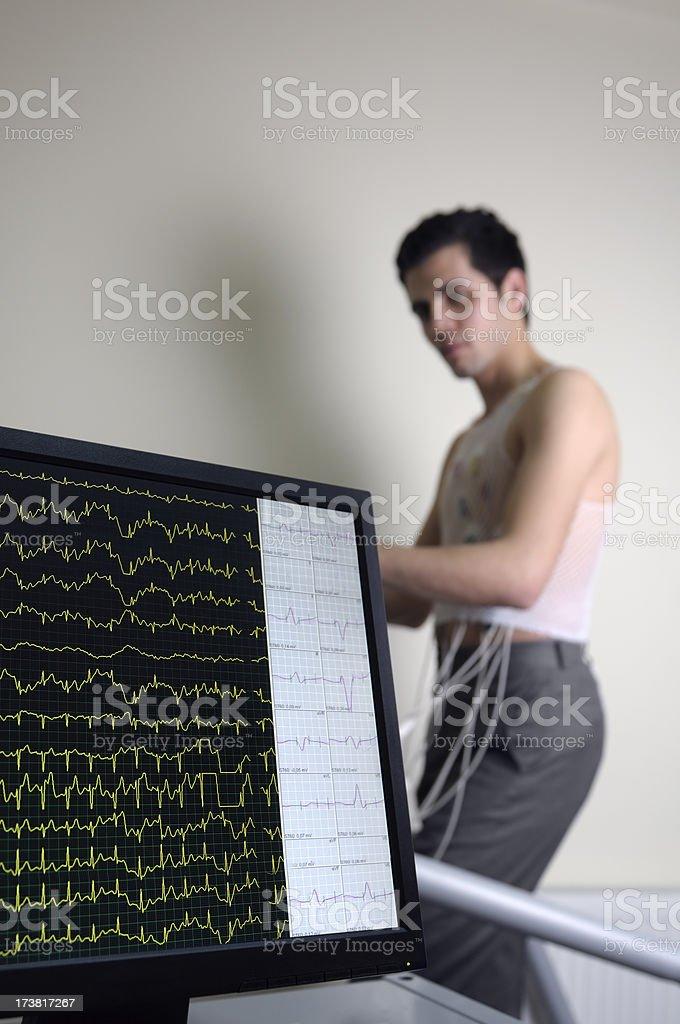 Cardiac Stress Test stock photo