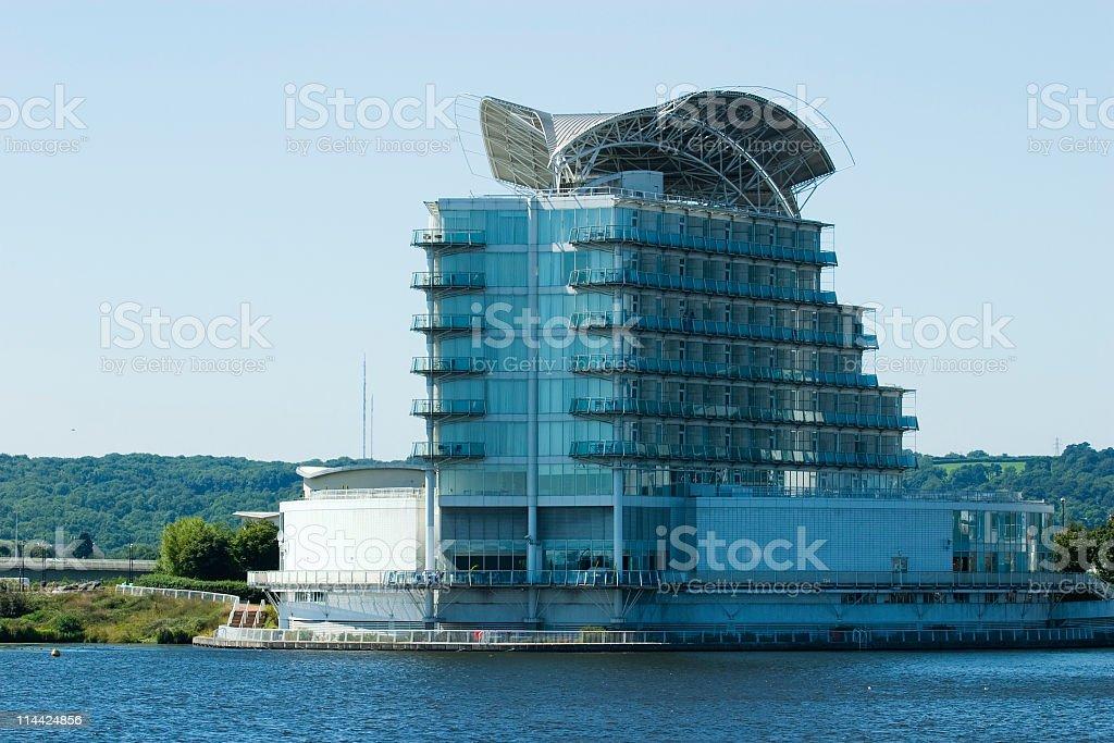 Cardiff Bay Apartments stock photo
