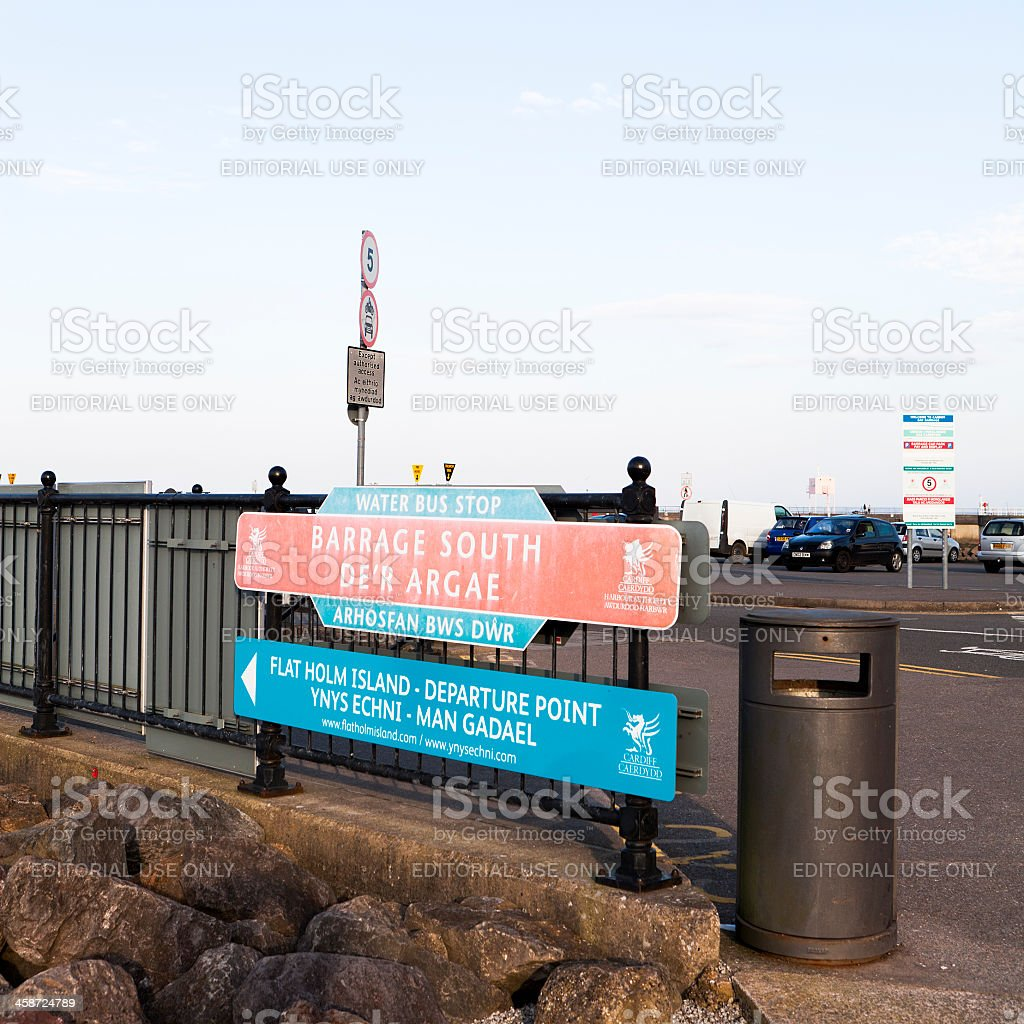 Cardiff Bay Harbour Authority stock photo