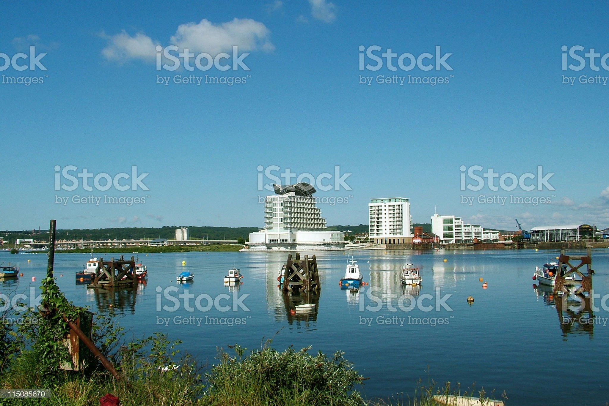 Cardiff Bay royalty-free stock photo
