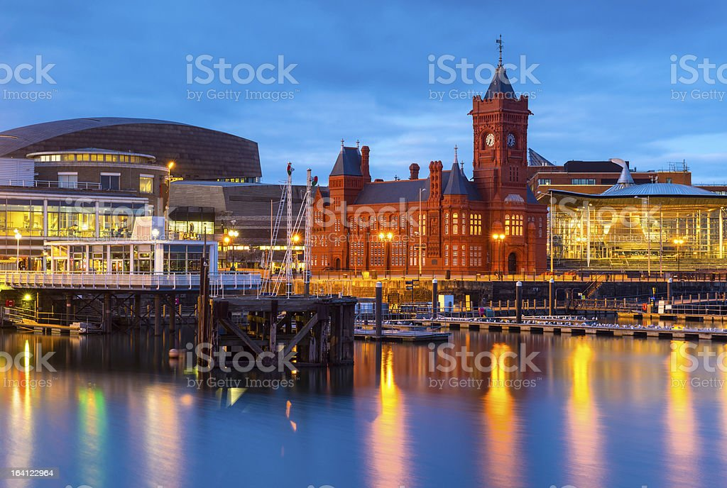 Cardiff Bay, Wales stock photo