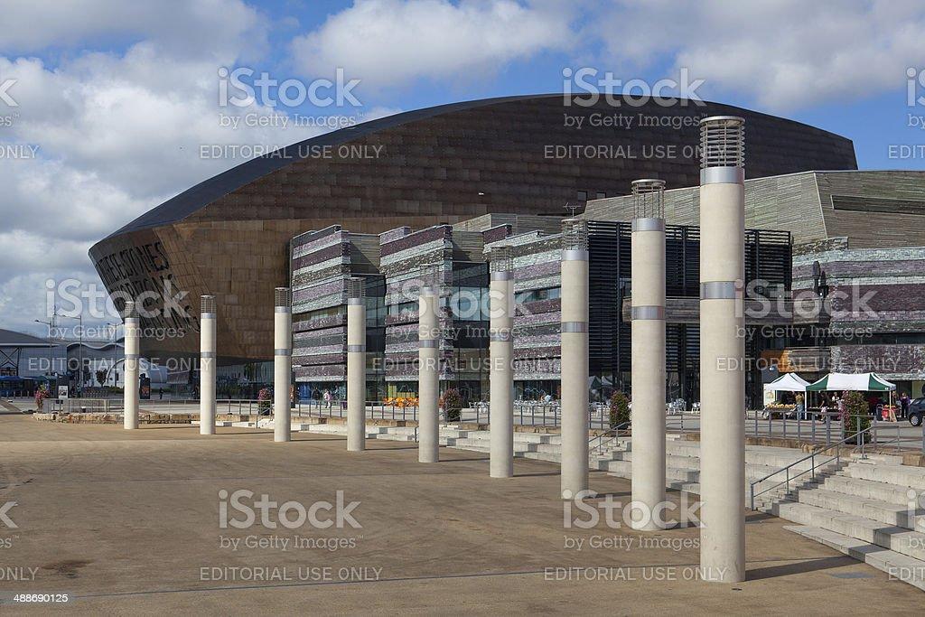 Cardiff Millennium Centre stock photo