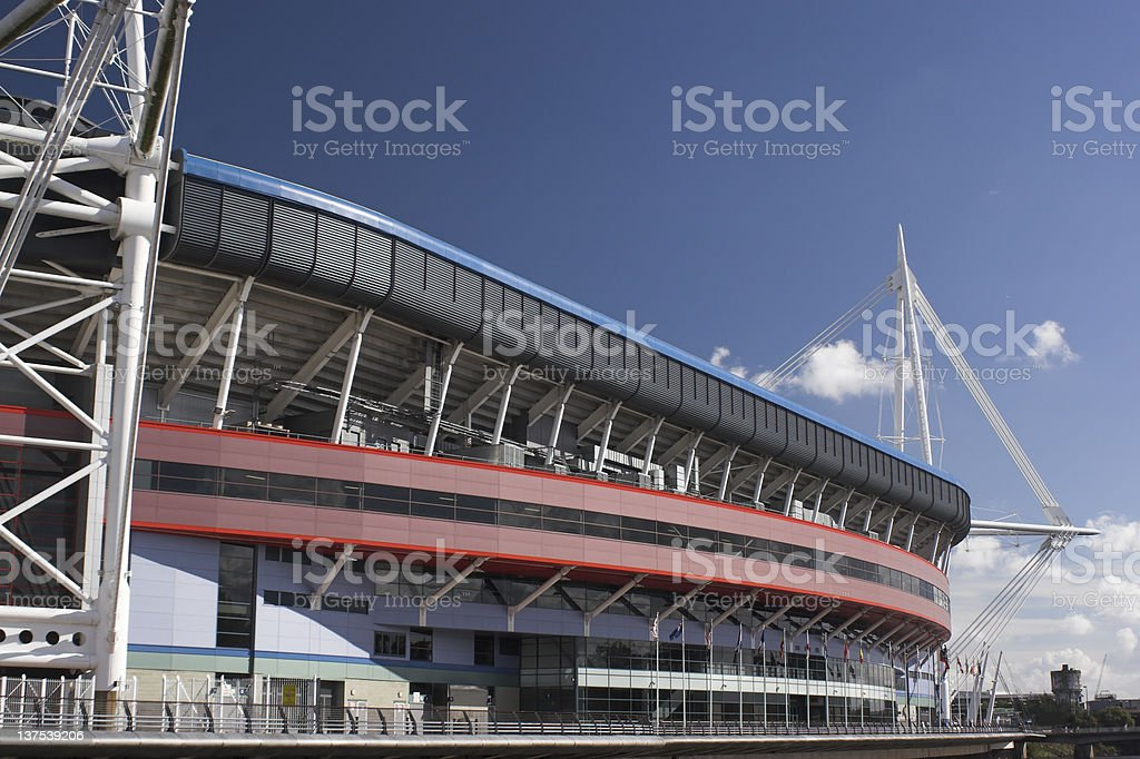 Cardiff royalty-free stock photo