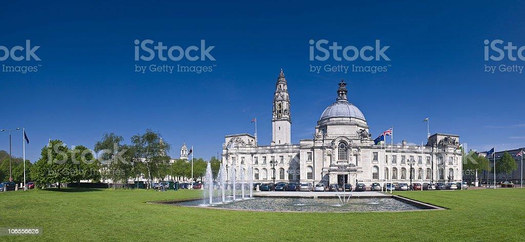 Cardiff views stock photo