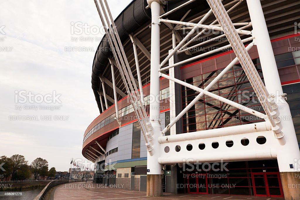 Cardiff Wales Millenium Stadium stock photo