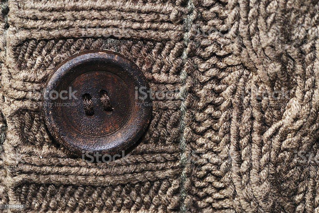 cardigan button royalty-free stock photo
