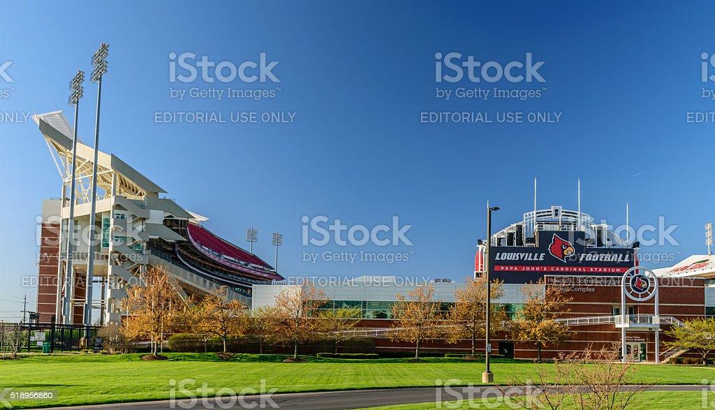 Cardinal Stadium stock photo