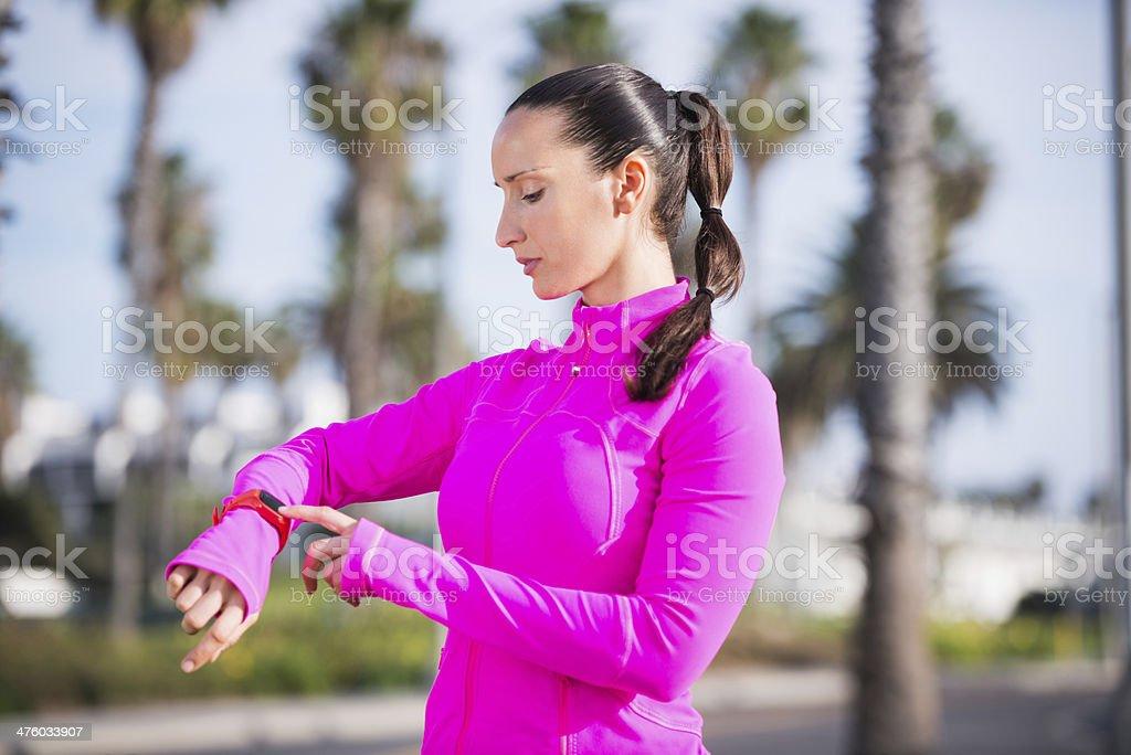 Cardio monitoring royalty-free stock photo