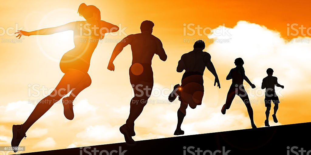 Cardio Training stock photo