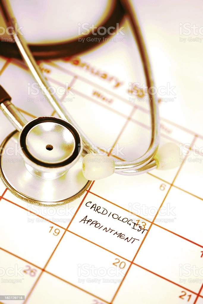 Cardiologist Appointment royalty-free stock photo