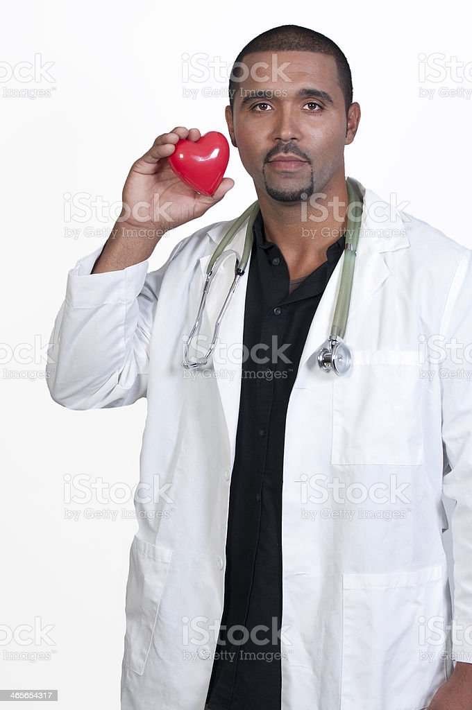Cardiologist royalty-free stock photo