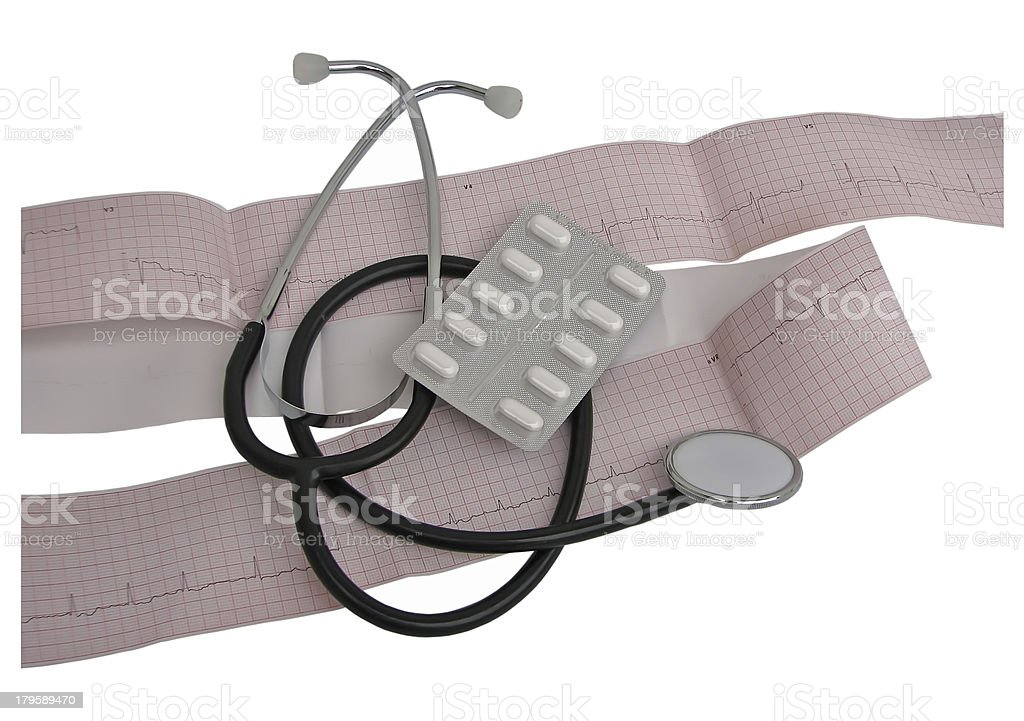 Cardiology royalty-free stock photo