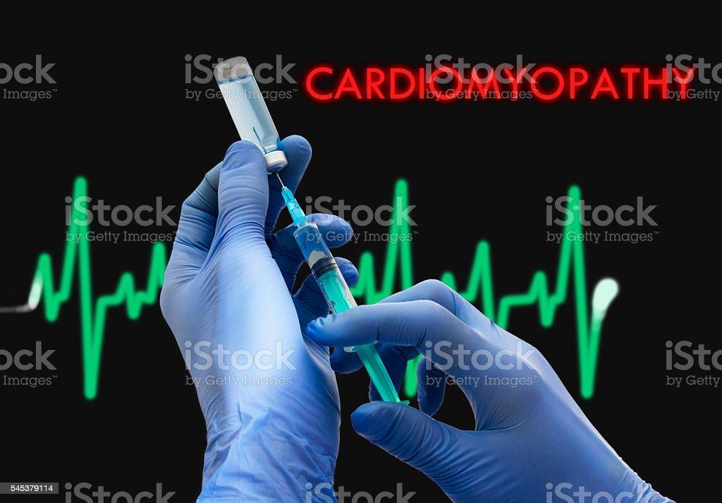 cardiomyopathy stock photo