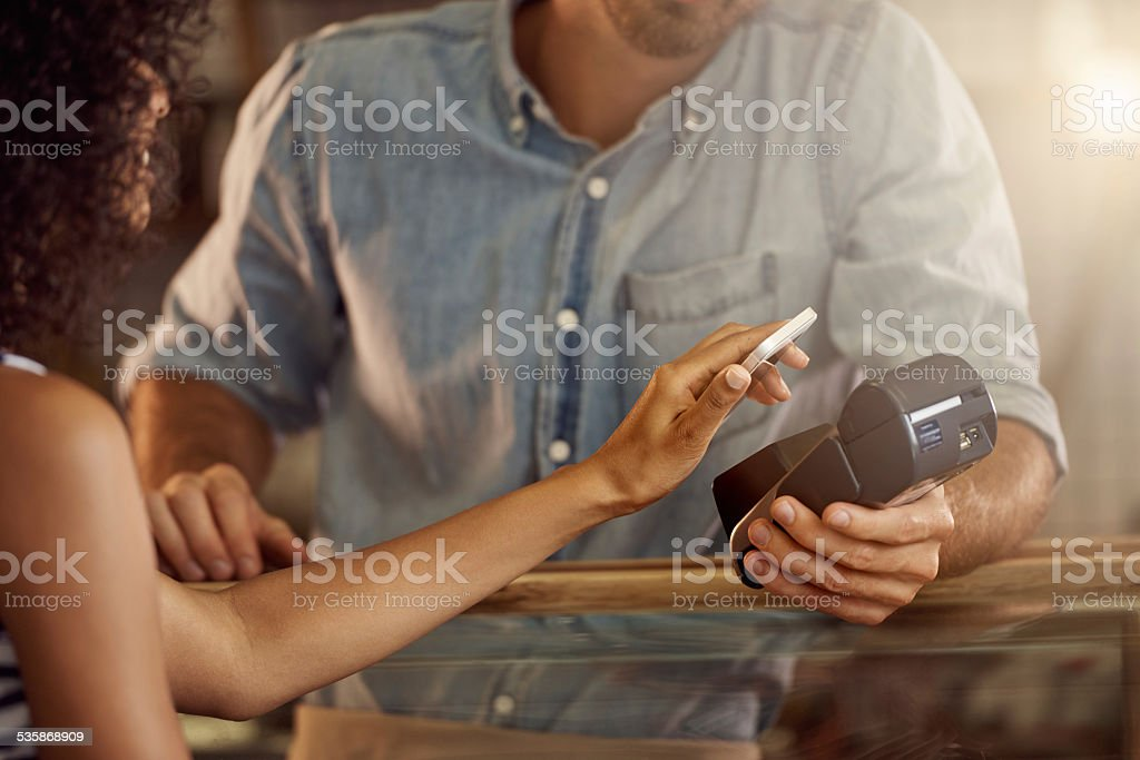 Card-less efficiency stock photo