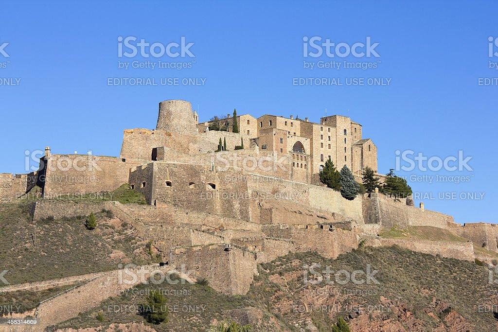 Cardona castle royalty-free stock photo