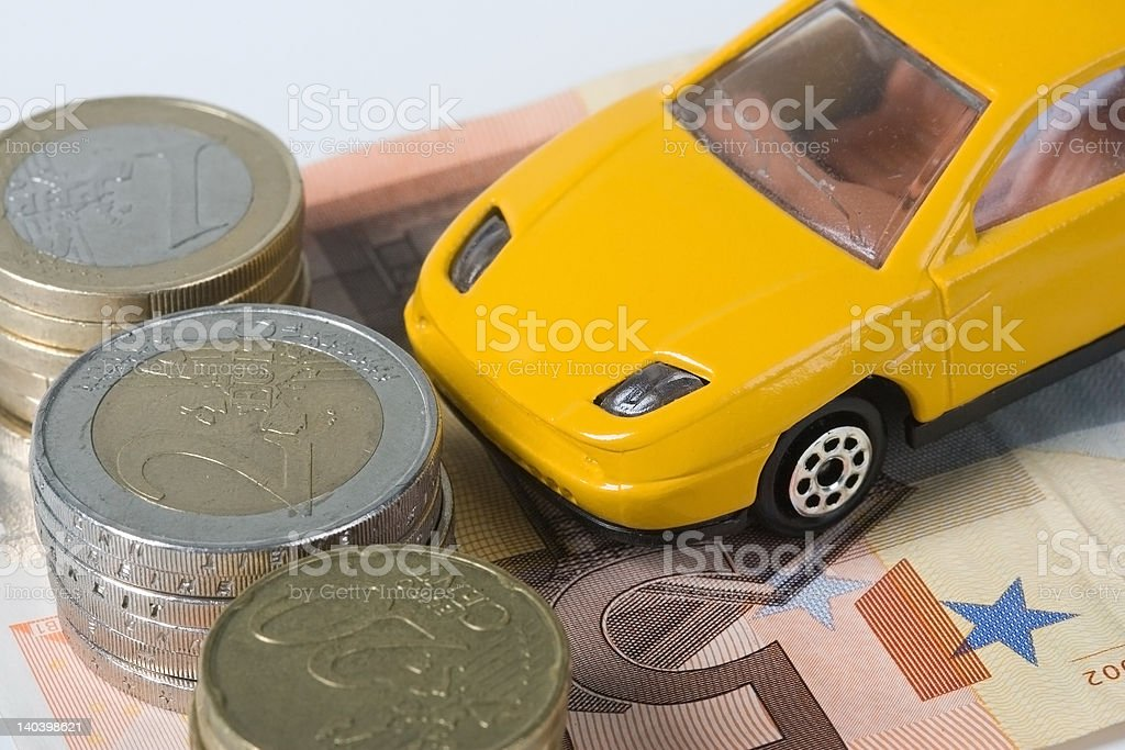 Cardriving is expensive royalty-free stock photo