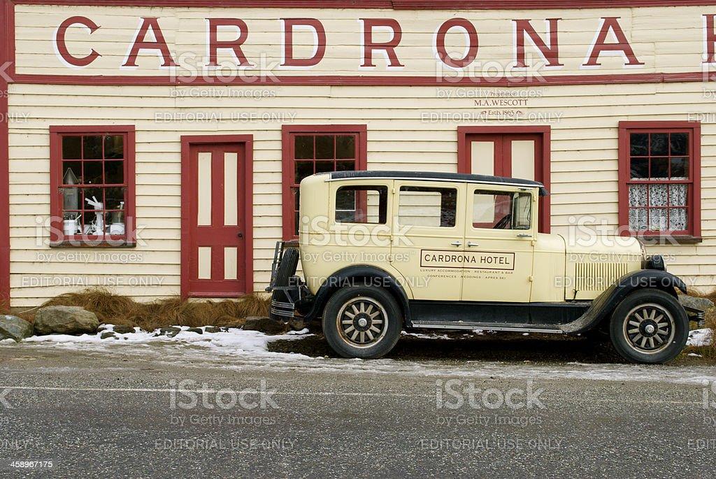 Cardrona Hotel, Wanaka, New Zealand stock photo